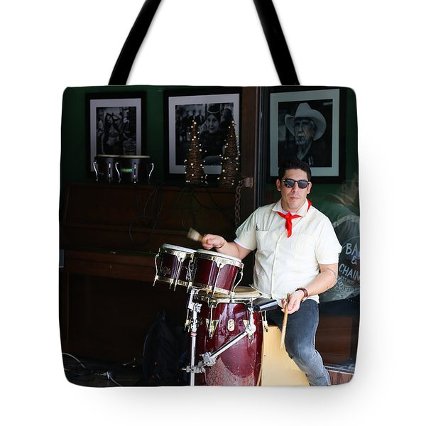 Cuban Band Tote Bag