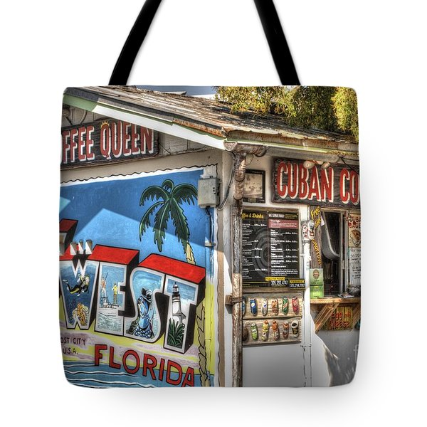 Cuban Coffee Queen Tote Bag
