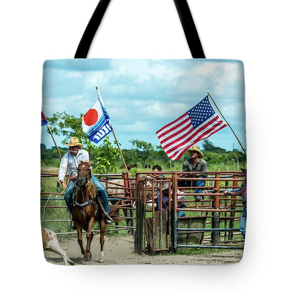 Cuban Cowboys Tote Bag