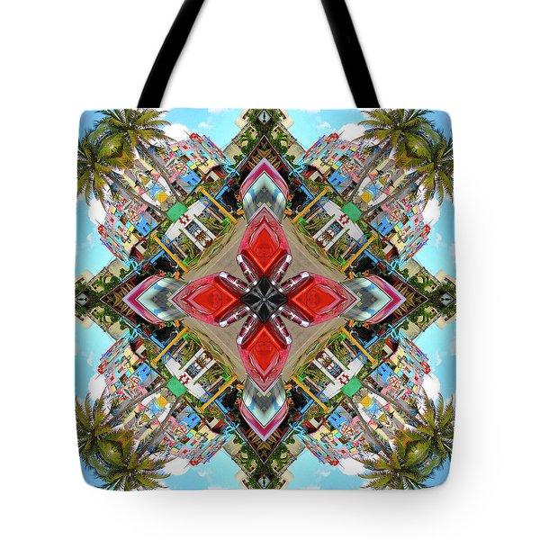 Cuban Kaleidoscope Tote Bag