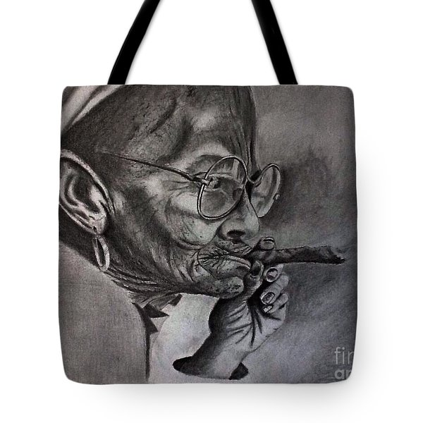 Cuban Old Lady Tote Bag