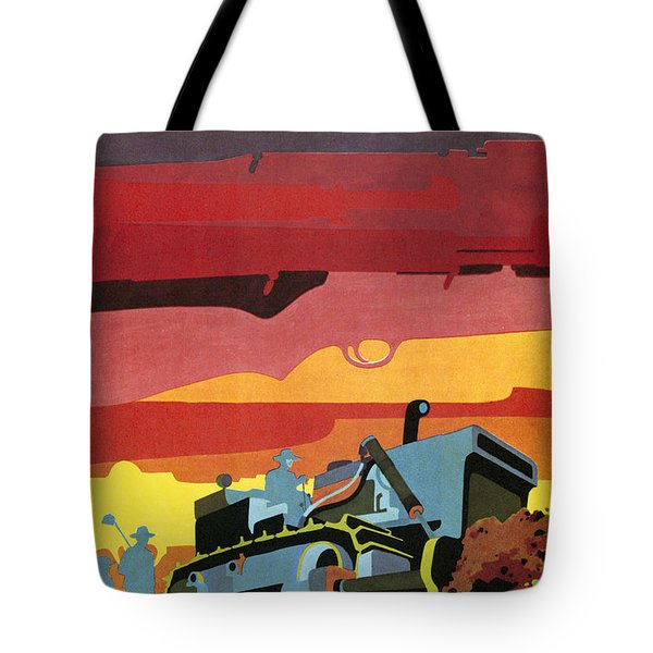 Cuban Poster, 1960s Tote Bag by Granger