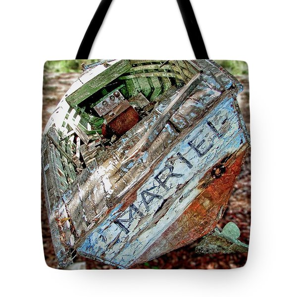 Cuban Refugee Boat 3 The Mariel Tote Bag