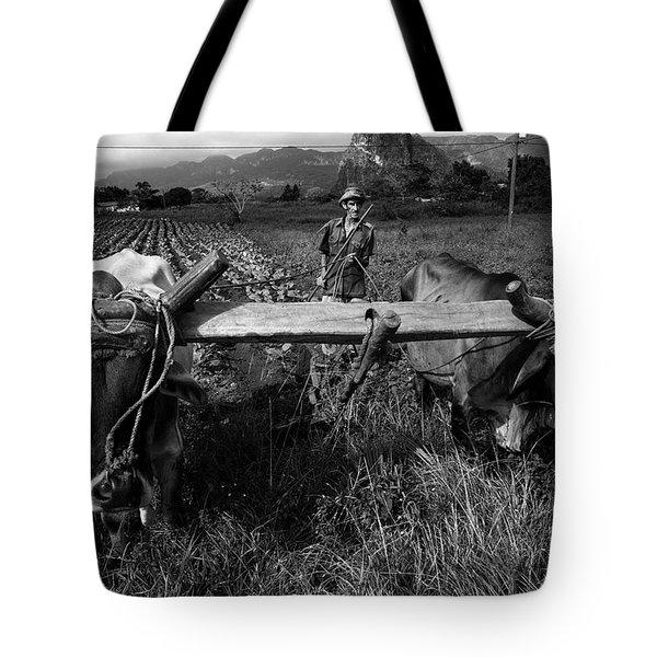 Cuban Worker I Tote Bag