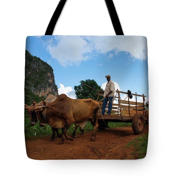 Cuban Worker II Tote Bag
