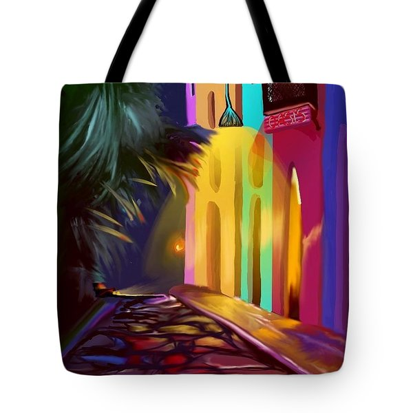 Cubano Street Tote Bag