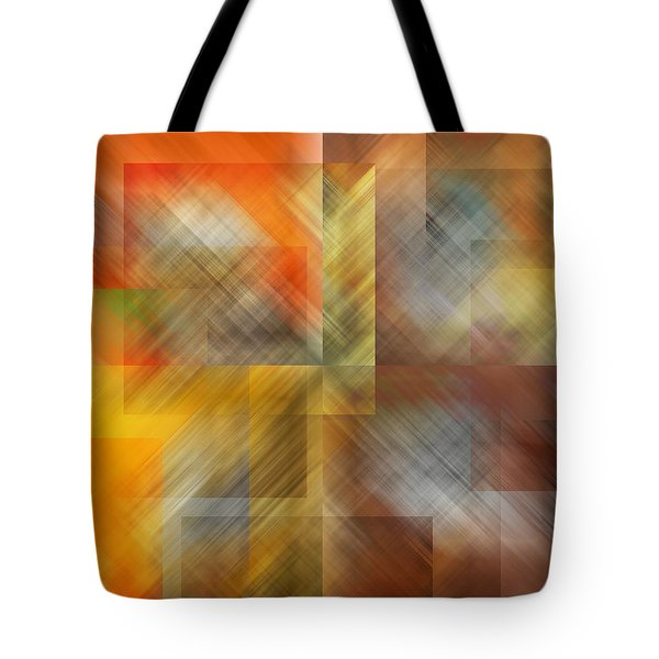 Tote Bag featuring the photograph Cubic Space by Mark Greenberg