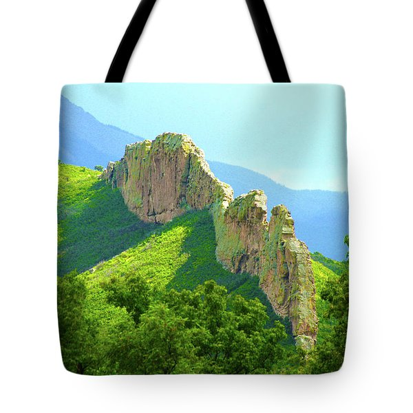 Tote Bag featuring the photograph Cuchara Ridge by Marie Leslie