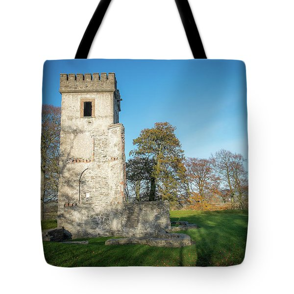 Cuchulains Castle Tote Bag by Marty Garland