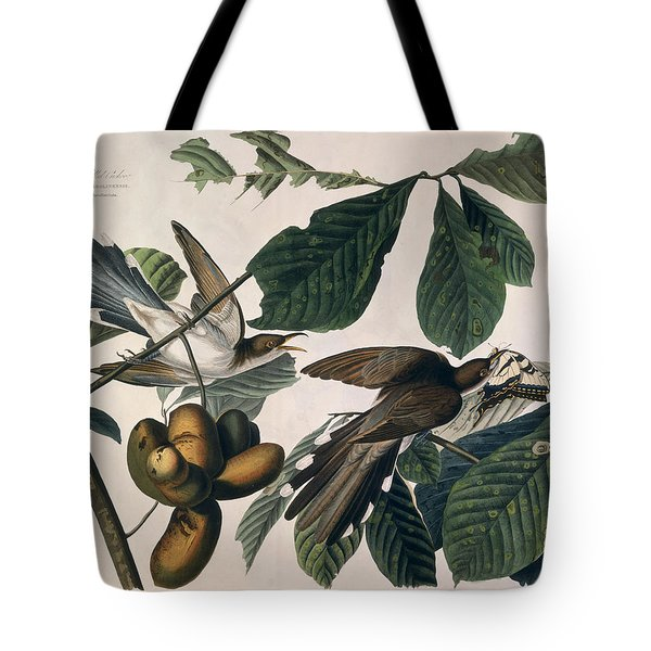 Cuckoo Tote Bag by John James Audubon