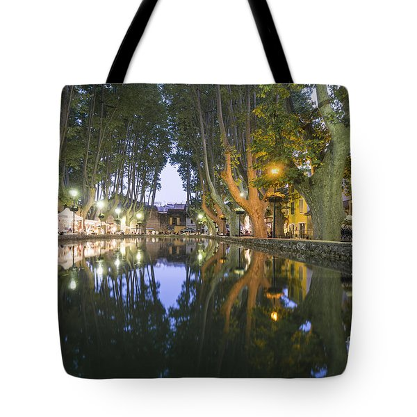 Tote Bag featuring the photograph Cucuron Village Provence  by Juergen Held