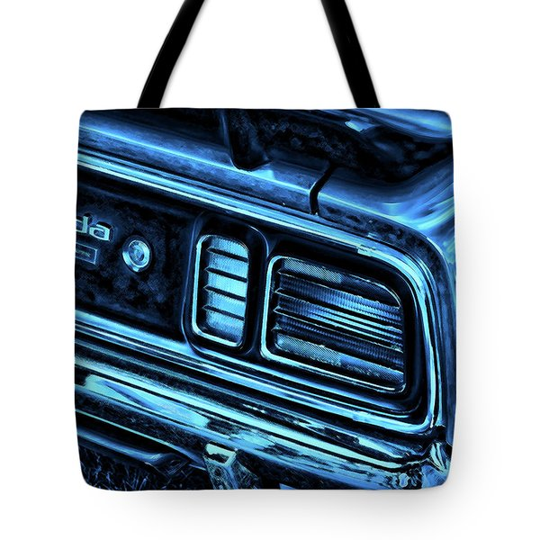 'cuda By Plymouth Tote Bag by Gordon Dean II