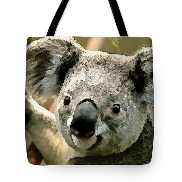 Cuddly Koala Tote Bag