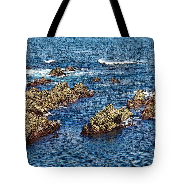 Tote Bag featuring the photograph Cudillero by Angel Jesus De la Fuente