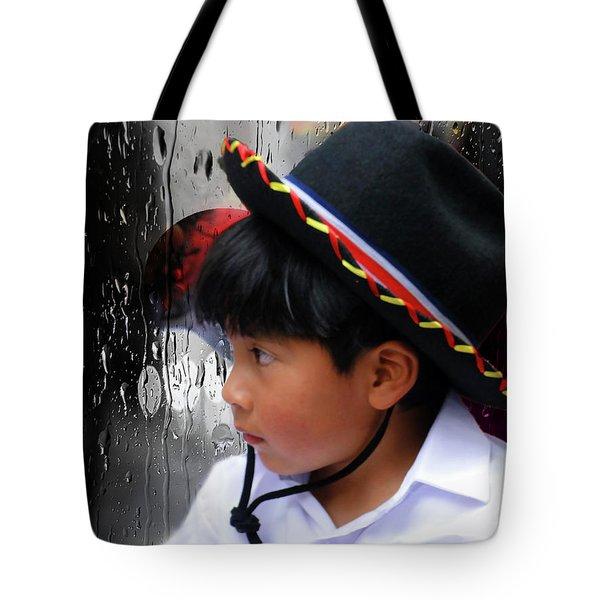 Cuenca Kids 880 Tote Bag by Al Bourassa