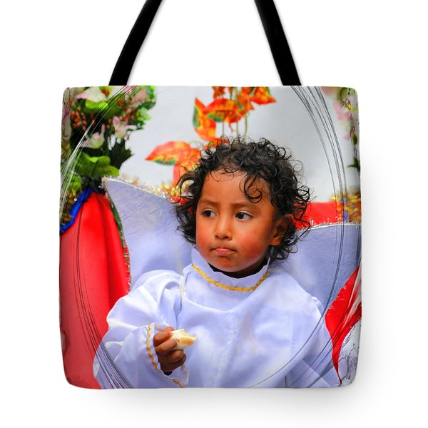 Cuenca Kids 882 Tote Bag by Al Bourassa