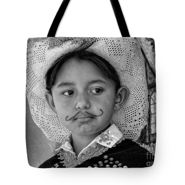 Tote Bag featuring the photograph Cuenca Kids 883 by Al Bourassa
