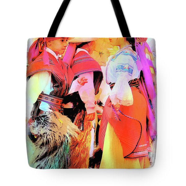 Tote Bag featuring the photograph Cuenca Kids 884 by Al Bourassa