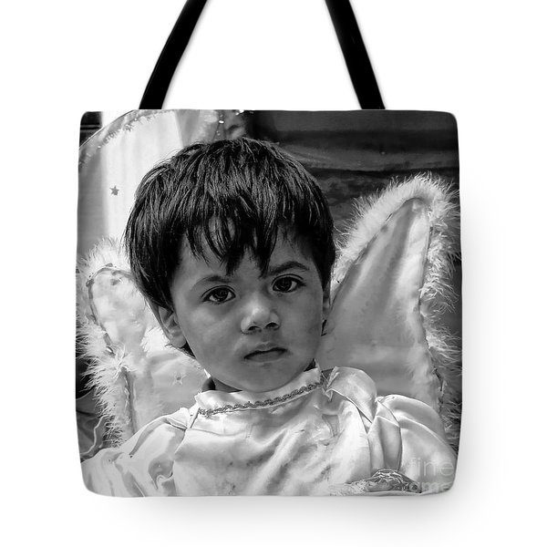 Tote Bag featuring the photograph Cuenca Kids 893 by Al Bourassa