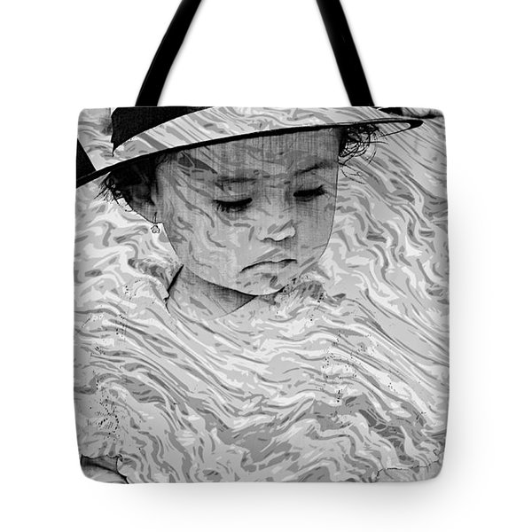 Tote Bag featuring the photograph Cuenca Kids 894 by Al Bourassa
