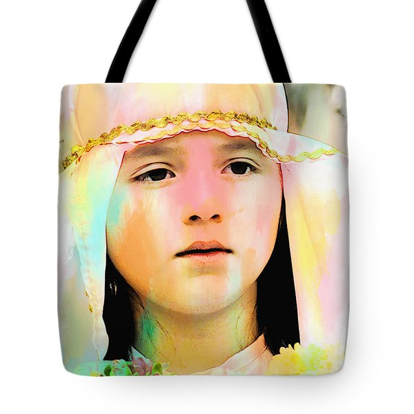 Tote Bag featuring the photograph Cuenca Kids 899 by Al Bourassa