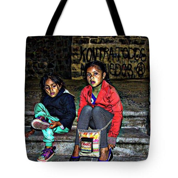 Cuenca Kids 953 Tote Bag by Al Bourassa