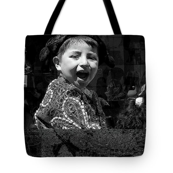Cuenca Kids 954 Tote Bag by Al Bourassa