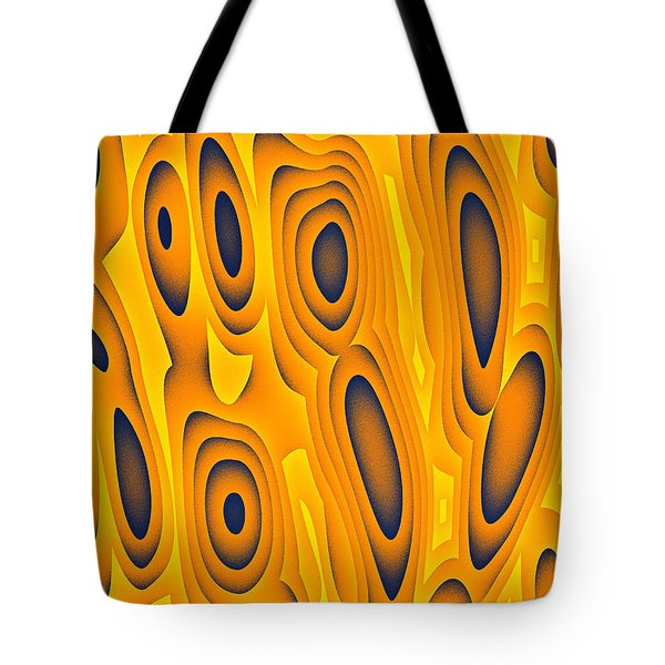Tote Bag featuring the digital art Cuiditheoiri by Jeff Iverson