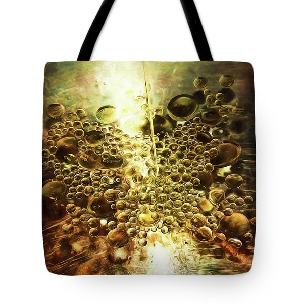 Culinary Abstract Tote Bag