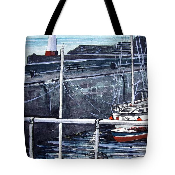 Cullen Beacon Tote Bag by Trudy Kepke