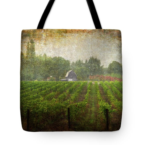 Cultivating A Chardonnay Tote Bag