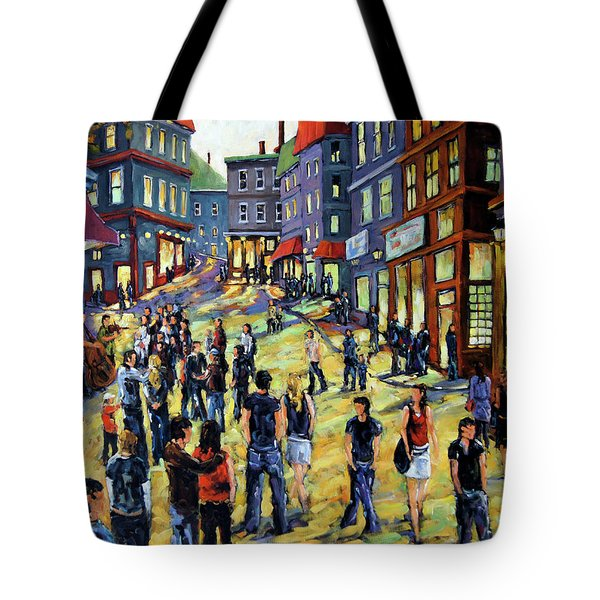 Culture In The Streets By Prankearts Fine Art Tote Bag