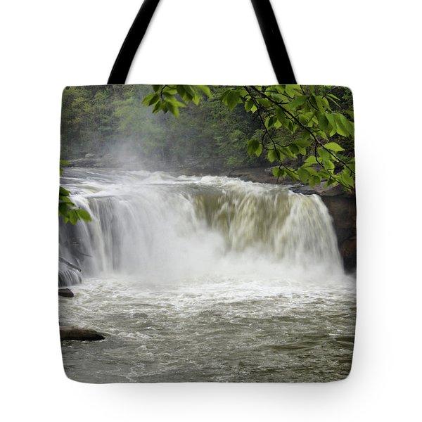Cumberland Falls Close-up Tote Bag