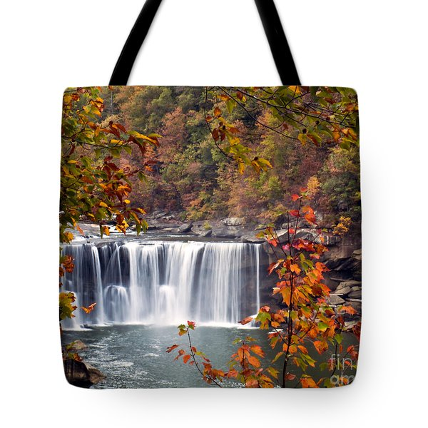 Cumberland Falls Two Tote Bag