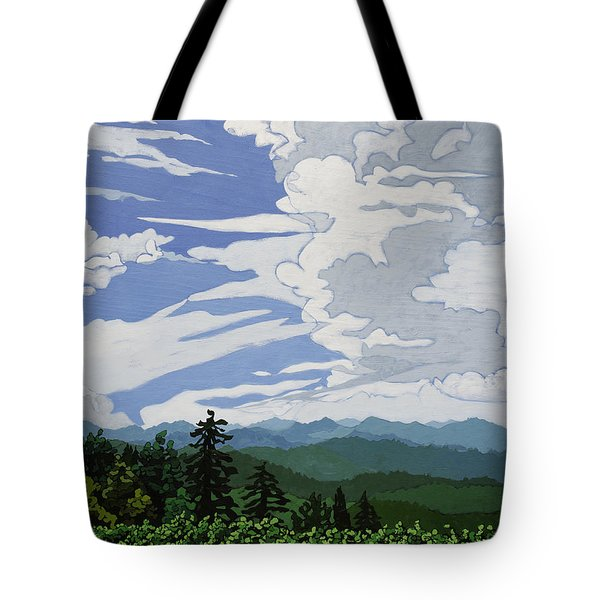 Cumulonimbus Afternoon Tote Bag
