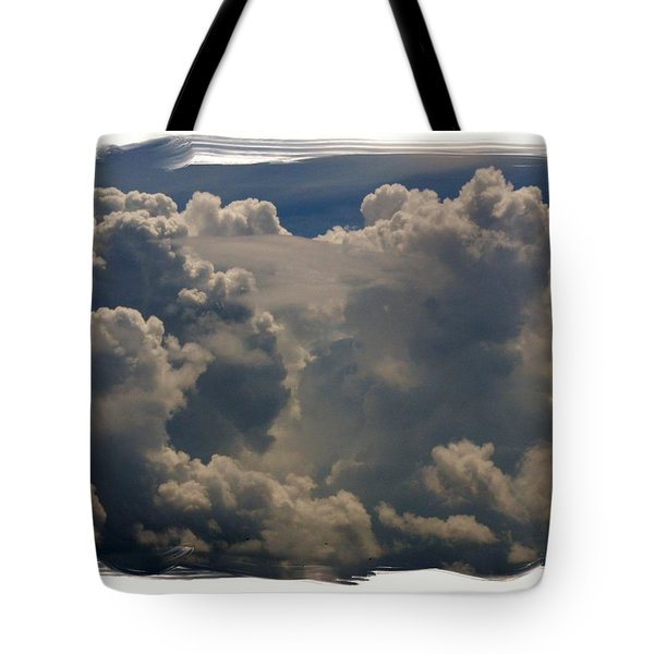 Cumulonimbus Tote Bag by Priscilla Richardson