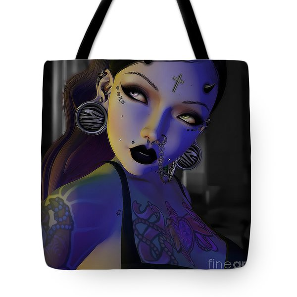 Cuoie Doll Tote Bag