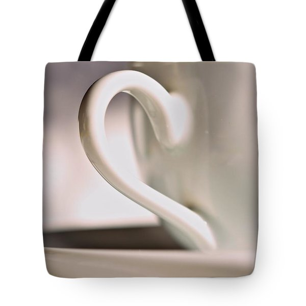 Cup And Saucer Tote Bag by Josephine Buschman
