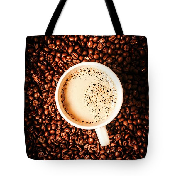 Cup And The Coffee Store Tote Bag