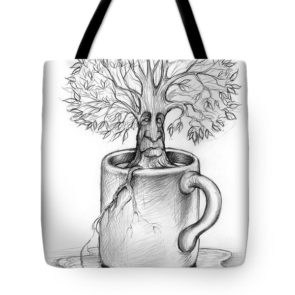 Cup-o-tree Tote Bag by Greg Joens