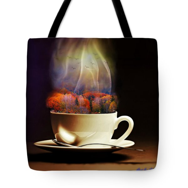 Cup Of Autumn Tote Bag