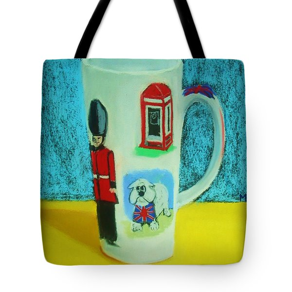 Cup Of London Java Tote Bag