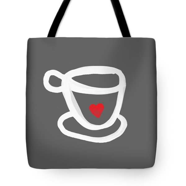 Cup Of Love- Shirt Tote Bag