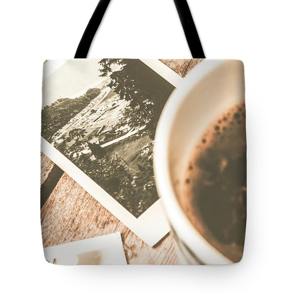 Cup Of Nostalgia Tote Bag