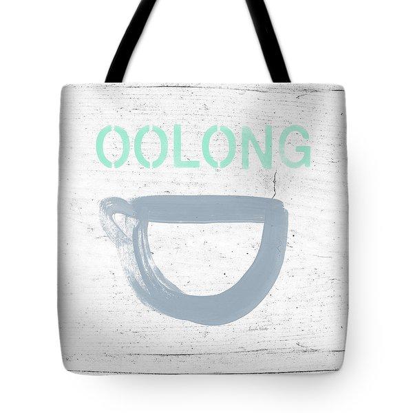 Cup Of Oolong Tea- Art By Linda Woods Tote Bag
