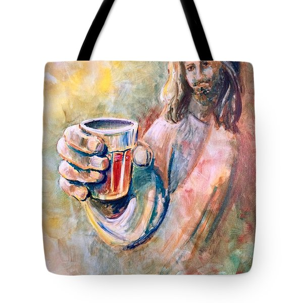 Cup Of Salvation Tote Bag