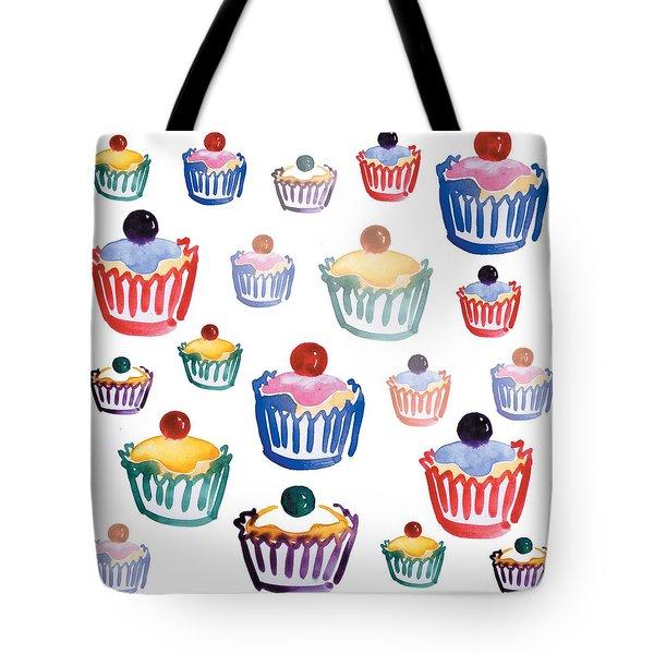 Cupcake Crazy Tote Bag