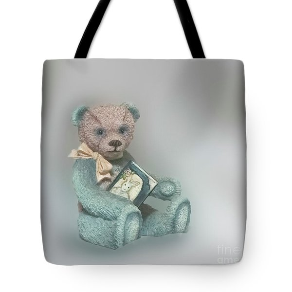 Tote Bag featuring the photograph Cupcake Figurine by Linda Phelps