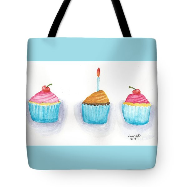 Cupcakes?  Tote Bag by Isabel Proffit