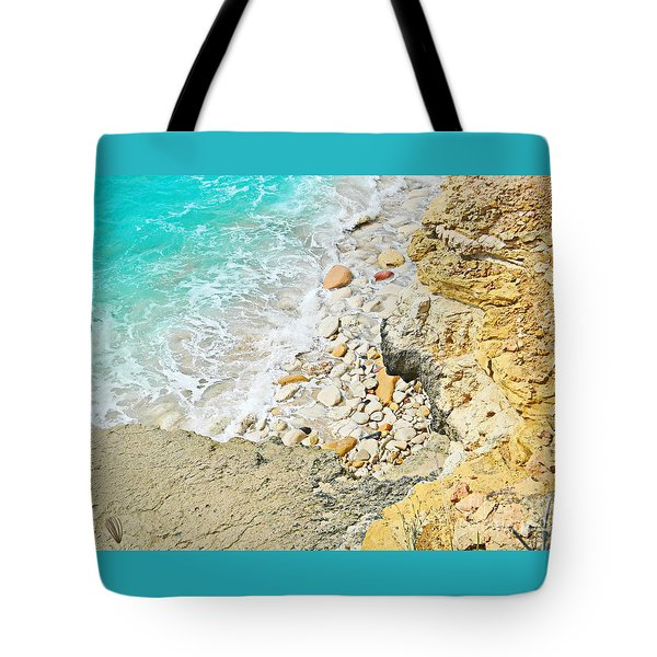 The Sea Below Tote Bag